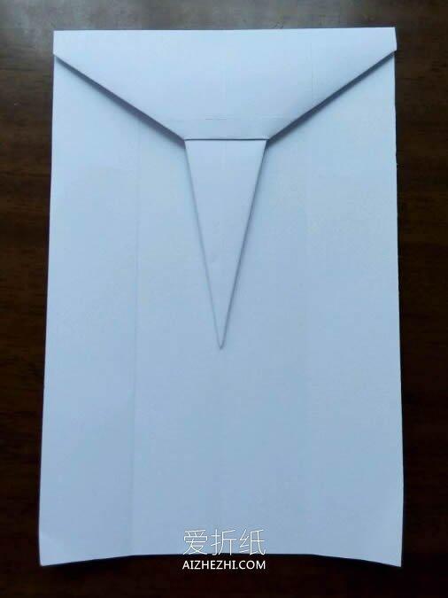 怎么用A4纸折战斗机 逼真战斗飞机的折法图解- www.aizhezhi.com