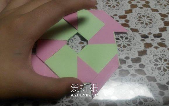 怎么折纸八角飞镖图解 手工八角飞镖的折法- www.aizhezhi.com