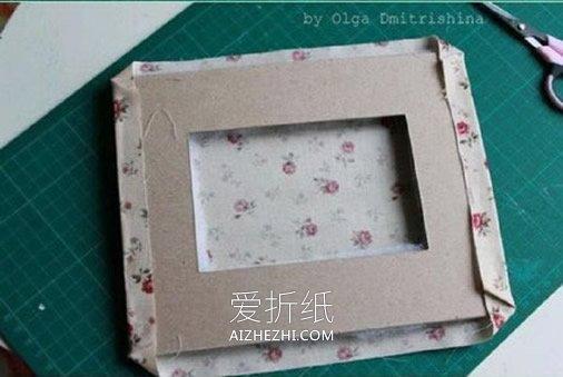 怎么做布艺相框的方法 手工布艺制作漂亮相框- www.aizhezhi.com
