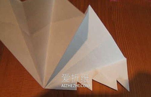怎么折纸立体圣诞树 一张纸折圣诞树的折法- www.aizhezhi.com
