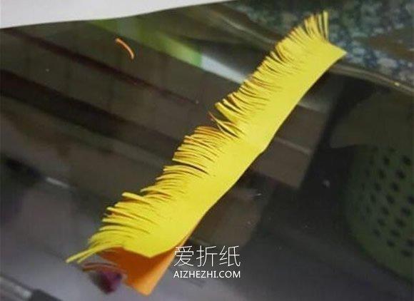 怎么做小雏菊的教程 雏菊纸花手工制作图解- www.aizhezhi.com