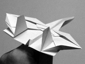 折纸战斗机图解 战斗机折纸方法