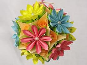 20个美丽的纸花球图片欣赏