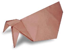 如何折纸寄居蟹 寄居蟹的折法图解教程