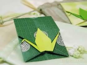 如何折千纸鹤信封 千纸鹤信封的折法图解
