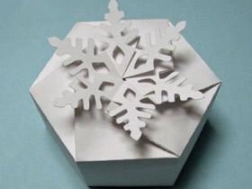 六边形纸盒展开图 六边形纸盒的折法图解