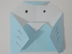 如何折纸小鸟 幼儿折纸小鸟的折法图解