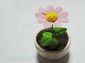 超轻粘土做向日葵的方法 粘土向日葵手工制作