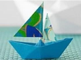 长方形纸如何折纸船图解 小船的折法简单一点的
