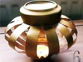 如何用易拉罐制作灯笼 简单儿童易拉罐灯笼做法