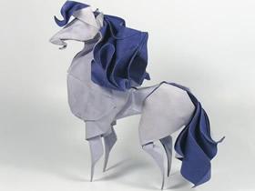 大师级折纸艺术作品 创意动物折纸图片