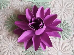 如何折纸莲花的方法 手工折纸莲花步骤图解