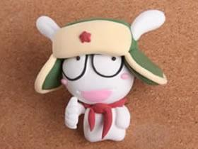 超轻粘土米兔手工制作 小米米兔粘土玩偶DIY教程