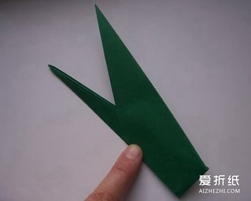 怎么折郁金香的方法 折纸郁金香步骤图解- www.aizhezhi.com