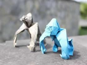 创意动物折纸作品欣赏 惟妙惟肖让人震撼!
