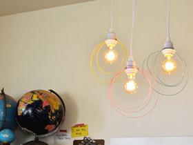 金属丝灯罩制作方法 灯罩用金属丝做教程