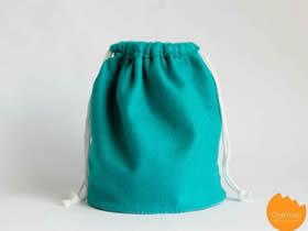 不织布束口袋制作 手工布艺束口布袋的做法