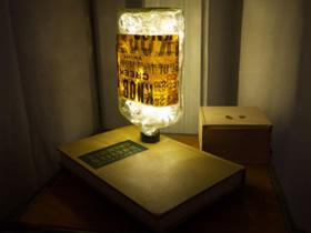 酒瓶制作梦幻台灯步骤 浪漫玻璃瓶小夜灯DIY