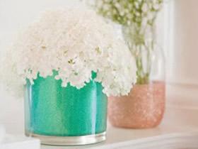 玻璃瓶DIY玻璃花瓶教程 玻璃杯制作花瓶方法