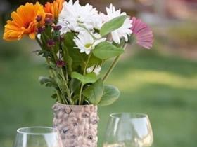薯片筒手工制作花瓶 创意薯片筒花瓶DIY方法