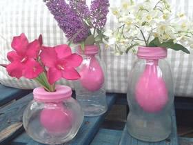 简单创意玻璃花瓶DIY 玻璃瓶做花瓶的方法