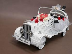 如何制作婚车模型 精美婚车模型的做法