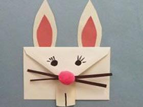幼儿园信封手工图片 简单手工兔子制作教程