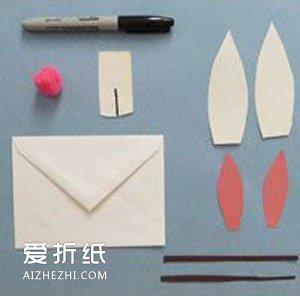 儿童小发明图片_幼儿园信封手工图片 简单手工兔子制作教程_爱折纸网