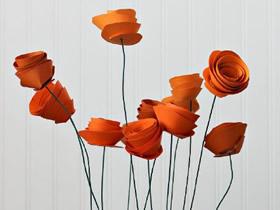 怎么制作卡纸玫瑰花 简单卡纸玫瑰制作方法