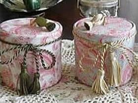 奶粉罐怎么做收纳罐 手工制作家用收纳罐方法