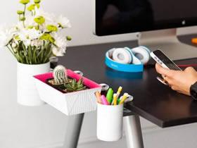 桌子收纳的制作方法 DIY桌边收纳的教程