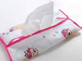 怎么做纸巾盒的教程 毛巾手工制作纸巾盒