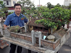 逼真的院子模型图片 仿真传统院落模型DIY