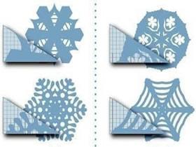 怎么剪纸雪花步骤图片 简单雪花剪纸步骤教程