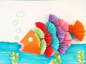 漂亮的幼儿粘贴画做法 手工制作动物贴纸画