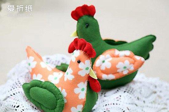 旧纸壳_怎么用不织布制作小鸡 手工布艺制作小鸡布偶_爱折纸网