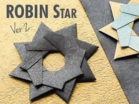怎么折纸八角飞镖图解 八角星星的折法步骤