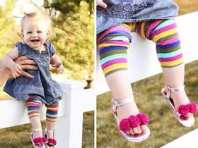 宝宝凉鞋的制作方法 旧包包改造婴儿凉鞋教程