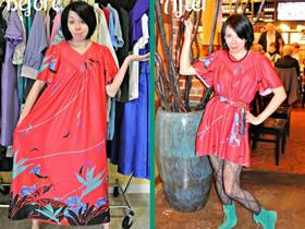 宽大老土的旧衣服改造 变成时尚潮流新服饰