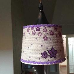 怎么用圆形纸盒DIY灯罩 手工制作简易灯罩方法