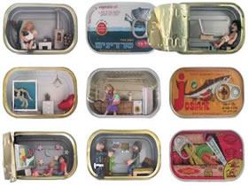 易拉罐变废为宝 DIY罐头里的小小世界