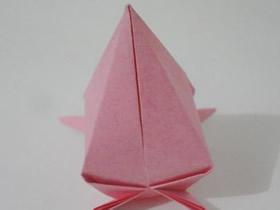 怎么折纸桃子的方法 立体桃子的折法图解