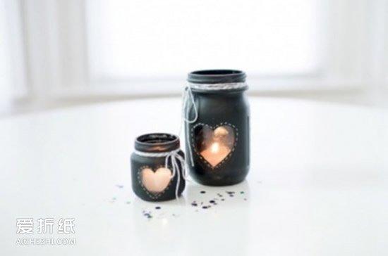 小学生做的新年贺卡_废弃玻璃瓶创意手工图片 玻璃瓶手工制作大全_爱折纸网