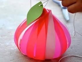 怎么做水蜜桃包装盒 简易桃子纸盒的做法图解