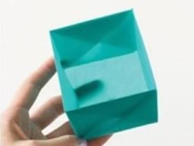 正方形纸盒的折纸图解 怎么折正方形盒子折法