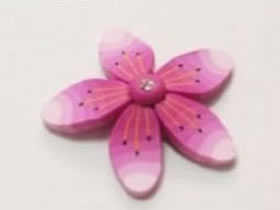 怎么用粘土制作樱花 超轻粘土樱花手工制作
