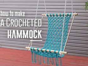 简约吊椅的编织方法 手工编织吊椅的图解