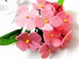 怎么做布花花束的方法 手工制作布花花束装饰