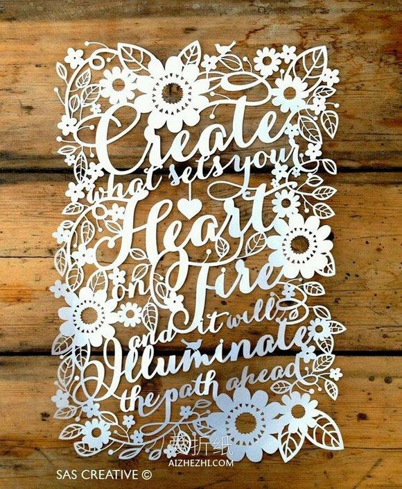 手工制作立体相框_手工精美纸雕作品欣赏 好看的平面纸雕图片_爱折纸网
