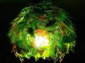 怎么自制塑料灯罩的方法 饮料瓶废物利用做灯罩